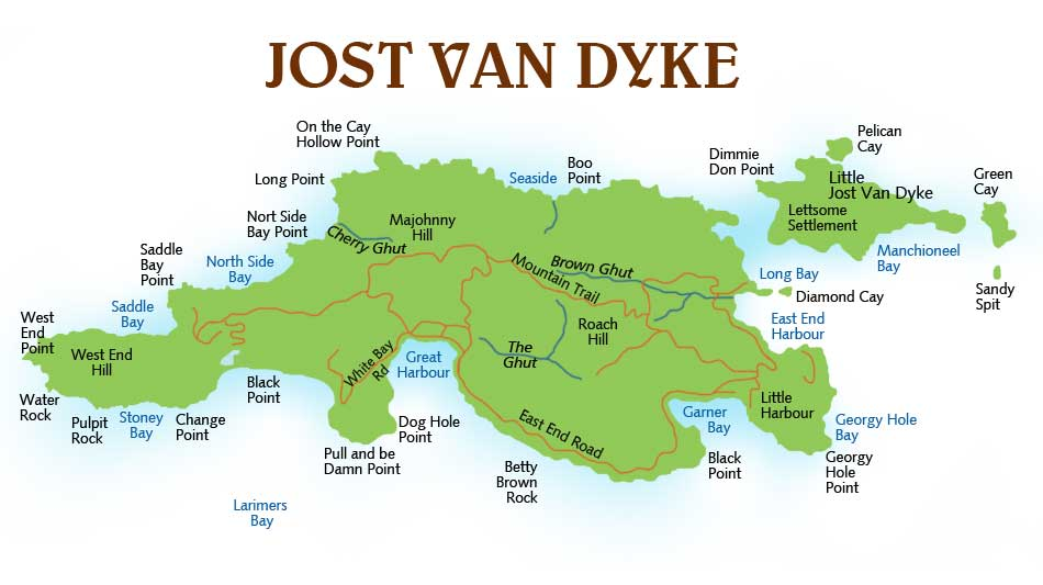 Find Us in Great Harbor on Jost JVD Grocery Store